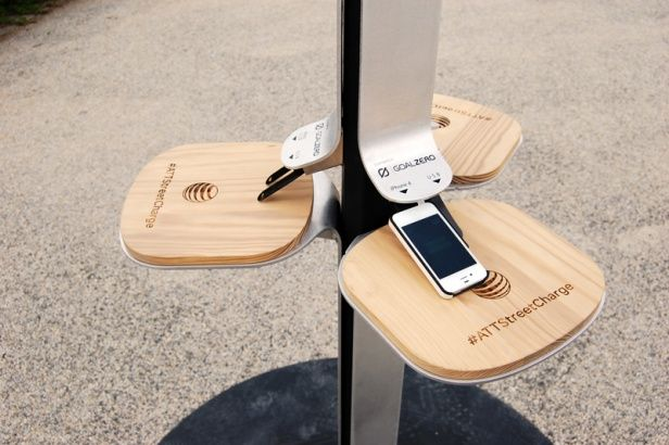 AT&T Tests Public Phone Charging Stations | MIT Technology Review