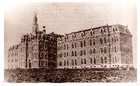 Glore Psychiatric Museum (Missouri)  The year 1872 was a year of growth for westward expansion.  Due to a boost in both population increase, as well as traffic from points east coming West, the need for an additional psychi