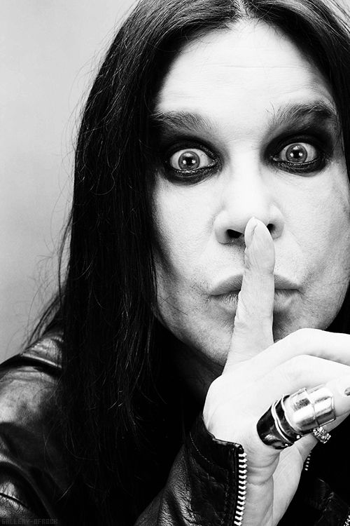 Ozzy Osbourne is a classic rock 'n' roll legend! Not only was he amazing in Black Sabbath but he has done just as good, even better on his own! I absolutely adore him no matter what my parents say! #followozzyforever