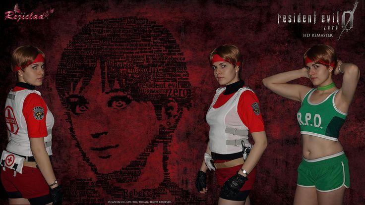 Rebecca Chambers Resident Evil / Biohazard 0 Zero HD Remaster cosplay by Rejiclad