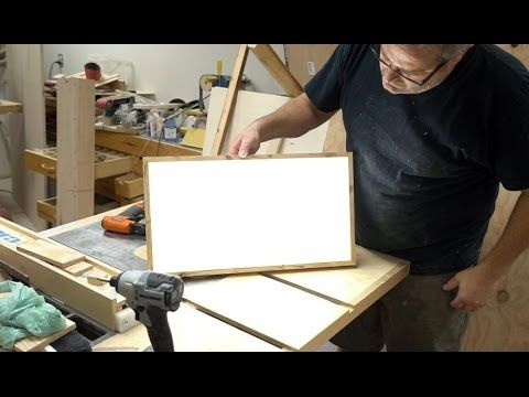 How To Make A Super Bright LED Light Panel (Battery Powered) | John Heisz #YouTube
