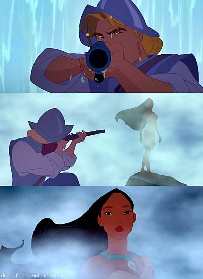 Pocahontas  One of my favorite parts :)