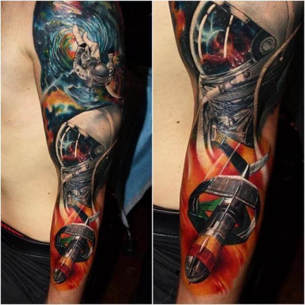 Deep deep space. #inkpiration #tattoo #tattooed #tattoos #tattooing #tattooart #tattoolife #tattoogirl #ink #inked #inkedup #inklife #art #artwork #tattoosleeve #sleeved #instagood