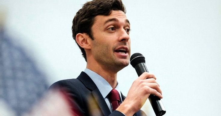 A new survey shows well-funded Democrat Jon Ossoff ahead of or even with his most likely GOP rivals in a second-round runoff in June.