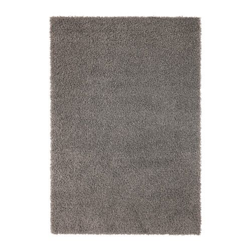 "IKEA - HAMPEN, Rug, high pile, 5 ' 3 ""x7 ' 7 "", , Durable, stain resistant and easy to care for since the rug is made of synthetic fibers.The high pile makes it easy to join several rugs, without a visible seam."