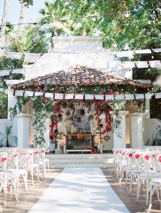 Most romantic wedding ceremony