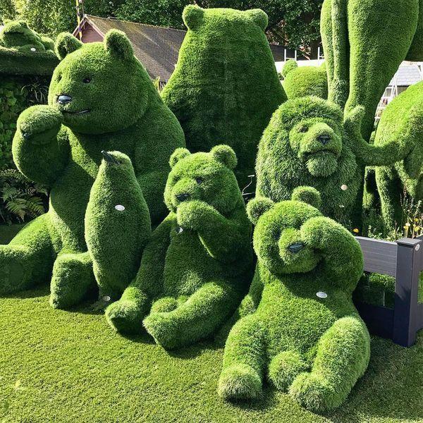 Grass Garden Sculpture webneel.com/… | Design Inspiration webneel.com | Follow…