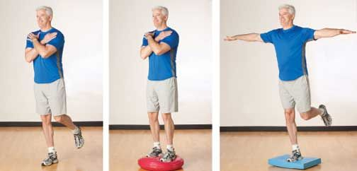 Balance exercises--physical therapy