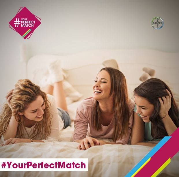 Giornata dura? Riconquistate l'equilibrio con una risata tra amiche ;) #YourPerfectMatch