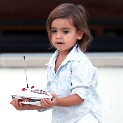 Mason Disick Hair/ HE LOOKS LIKE HIS MOTHER, KOURTNEY, HERE!  SO CUTE, MAKES YOU JUST WANT TO KISS HIM UP! ♥