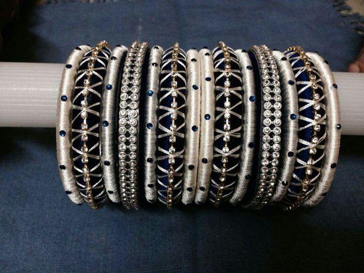 Handmade thread jewellery : Pin by mrudula vellapalem on silk thread jewellery ideas