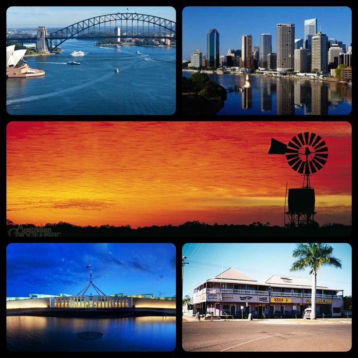 Australia - The cities to the outback