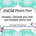 Snowmen Doubles and Doubles Plus and Minus One includes doubles fact cards through 30. The packet includes 3 activity sheets. One that allows the s...