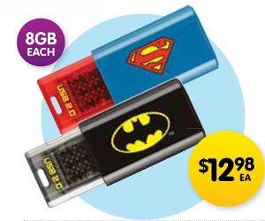 EMTEC Superhero USB Flash Drive