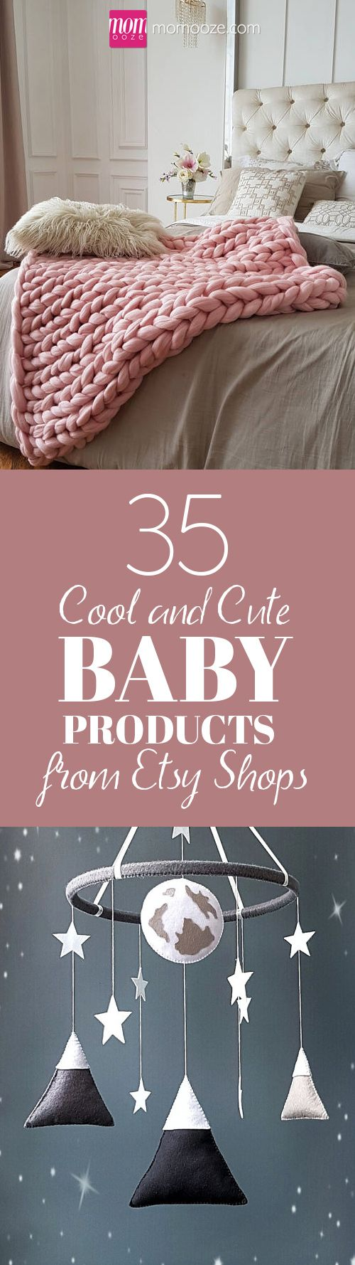35+ Cool and Cute Baby Products from Etsy Shops - momooze.com