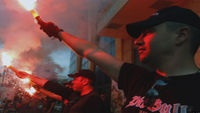 UK Channel 4 Video documentary: Racist, anti-semitic, violent - the true face of Golden Dawn | Greece's neo-Nazi Golden Dawn is increasingly influential among members of the country's political mainstream. Student Konstantinos Georgousis filmed party members on the streets of Athens.