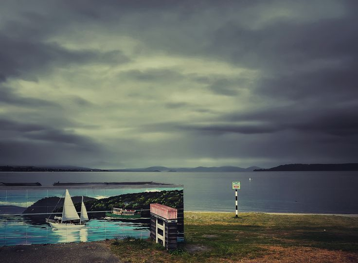 Sailing in Taupo - Taupo, New Zealand