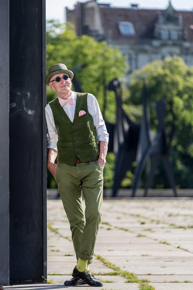 """Günther Krabbenhöft, il nonno """"hipster"""""""