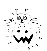 cat pumpkin dot to dot