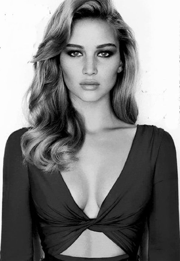 She's perfect. I am 100 percent gay for Jennifer lawrence..