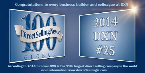 It was one of the best decisions I made in my life that joined DXN: http://dxncoffeemagic.com/my_story