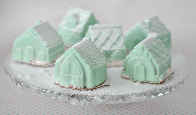 Raspberry & Chocolate mousse filled chocolate houses | Flickr - Photo Sharing!