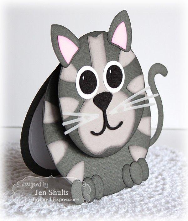 Punch art cat