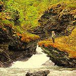 Artic waterfall Norway Juha Jousi