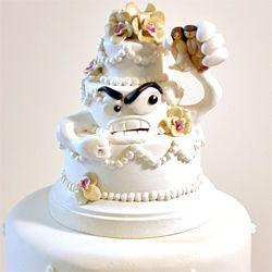 61 best Hilarious wedding cakes images on Pinterest Funny weddings