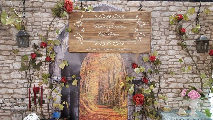 ¿Te gusta el cuento de Blancanieves? A nosotras sí...y por eso fue nuestra fuente de inspiración en el stand de Boheme Sensations en Feria y boda 2015