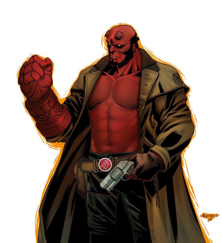 24 best hellboy images on pinterest lego legos and custom action rh pinterest com Hellboy 2 Hellboy Movie