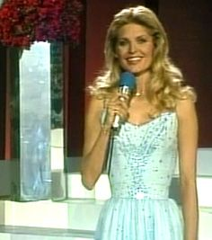 Eurovision Song Contest 1983 : presenter Marlene Charell