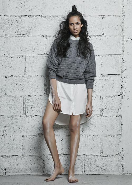 NÜ Denmark Luxury Pre-Spring Pullover Blouse