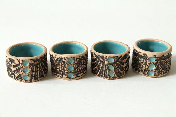 Moroccan Lace Napkin rings