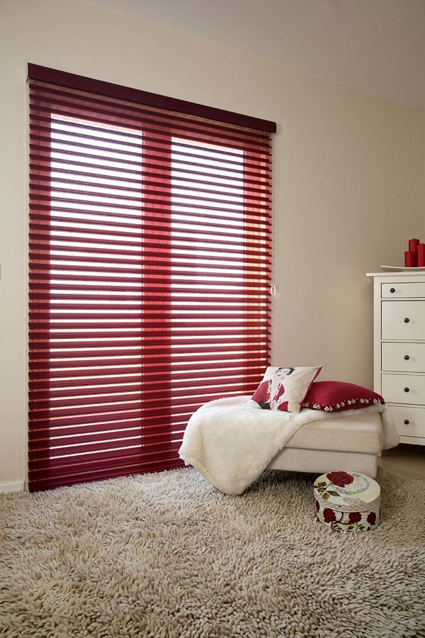 Add A Splash Of Colour To Your Bedroom With Our Red Sheer