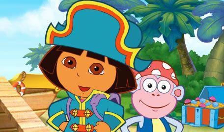 A Pirata Dora Exploradora
