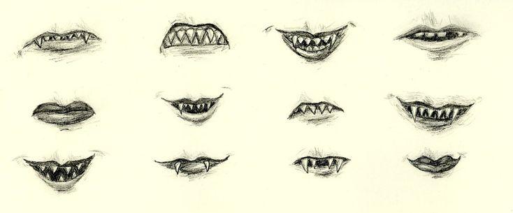 troll teeth by red-thorn