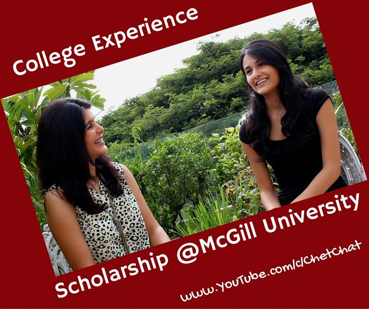 Looking to Study in Canada? Searching for Scholarship and Financing Options? Watch sophomore at McGill University in this videochat talk about the various financing options available at McGill University, the admission process, completing your degree in three years and the unique experience of studying in Canada, college dorm room