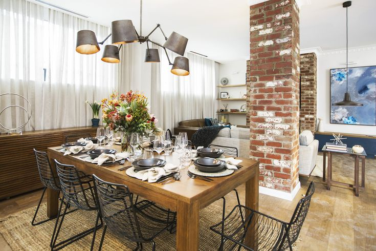 Is this your favourite look from Living + Dining week? You can thank Kim + Chris...