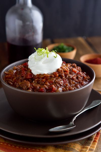 Post image for Sausage Chili Recipe and a Sunday Supper Party