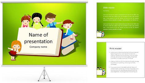 Libros de niños y de ilustración vectorial: Plantillas de ...