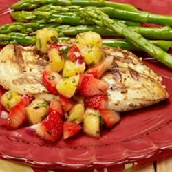 Drunken Fruit Salsa Allrecipes.com: Dinner, Strawberries Salsa ...