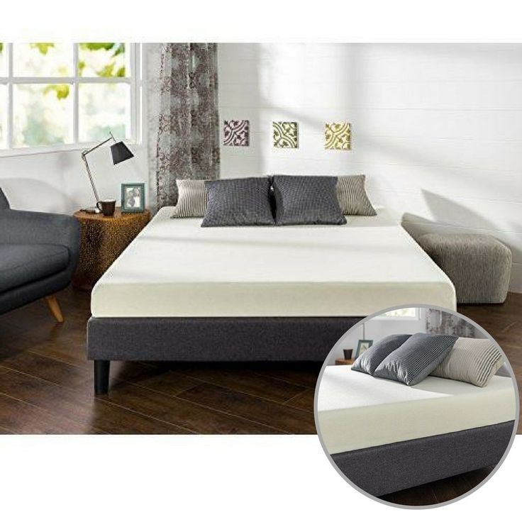 Full Memory Foam Mattress 6 Inches Sleep Master Ultima Comfort High Density #Unbranded