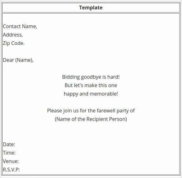 Email Party Invite Template In 2020