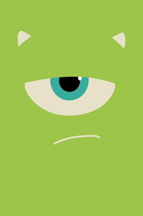 Monsters University by Lara Brizuela Garcia, via Behance