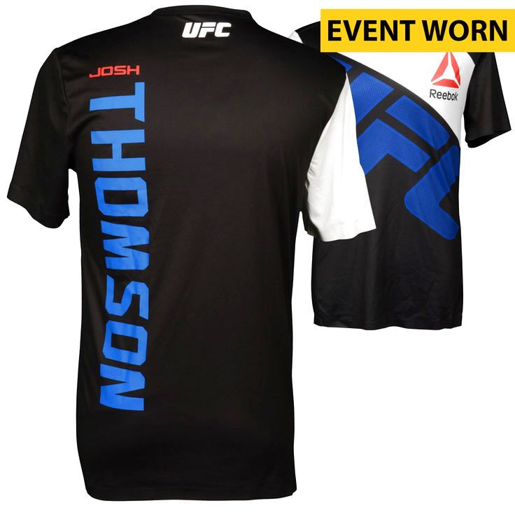 Josh Thomson Ultimate Fighting Championship Fanatics Authentic UFC Fight Night Mir vs. Duffee Event-Worn Walkout Jersey - Fought Tony Ferguson in a Lightweight Bout - $319.99