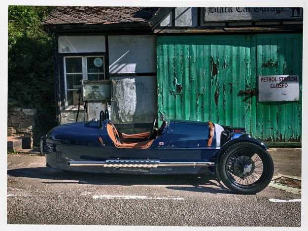 Morgan Three Wheeler M3W at Blackcat garage