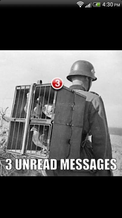 3 unread messages