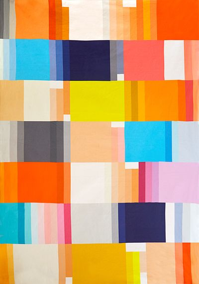 COLOUR PATCH THROW