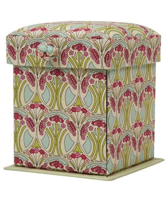 Mauverina Print Compact Sewing Box | Haberdashery | Liberty.co.uk